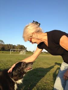 Shirley Watson and her Lover Dog - Boo